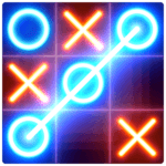 Tic Tac Toe glow - Free Puzzle Game icon