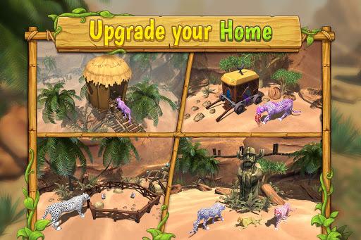 Cheetah Family Sim APK screenshot 1