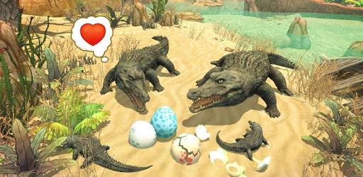 Crocodile Family Sim : Online pc screenshot