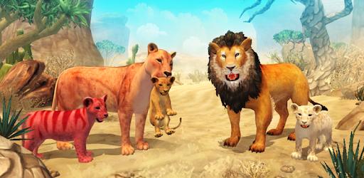 Lion Family Sim Online pc screenshot