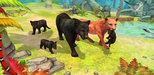 Panther Family Sim Online pc screenshot