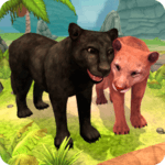 Panther Family Sim Online icon