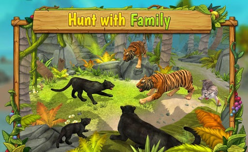 Panther Family Sim Online APK screenshot 1
