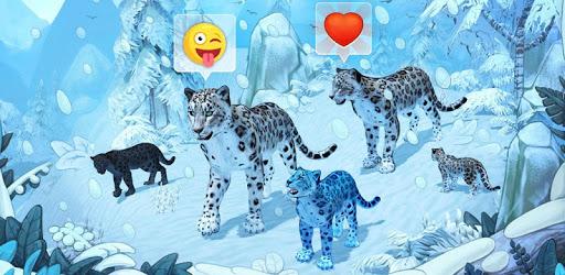 Snow Leopard Family Sim Online pc screenshot