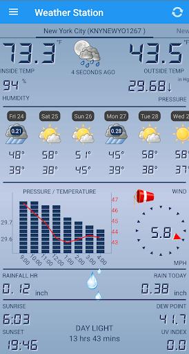 Weather Station APK screenshot 1