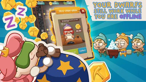 Seven Idle Dwarfs: Miner Tycoon APK screenshot 1