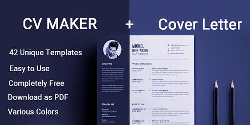 Curriculum vitae App CV Builder Free Resume Maker APK screenshot 1