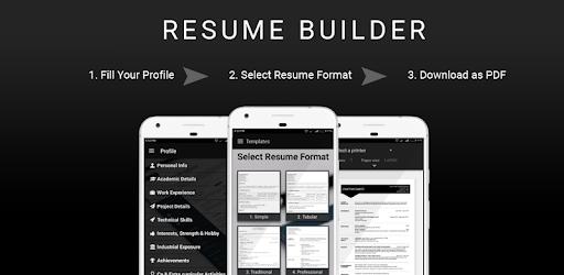 Download Free Resume Builder Cv Maker Templates Formats App For Pc