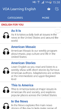 American English Listening APK screenshot 1