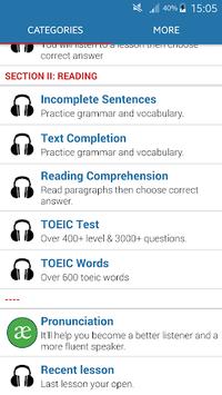 TOEIC Listening APK screenshot 1