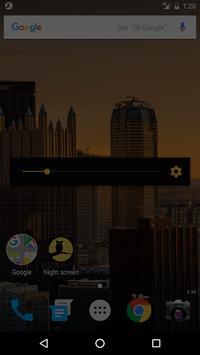 Night screen APK screenshot 1