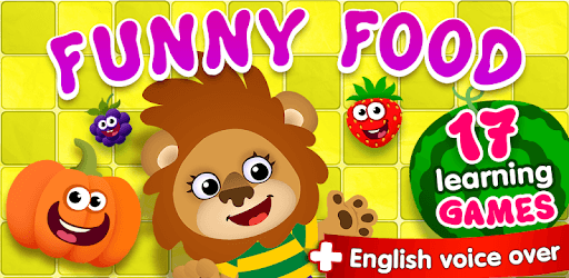 FunnyFood Kindergarten learning games for toddlers pc screenshot