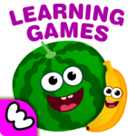 FunnyFood Kindergarten learning games for toddlers for pc icon