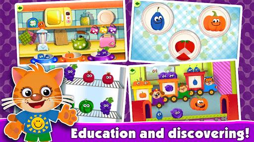 FunnyFood Kindergarten learning games for toddlers APK screenshot 1