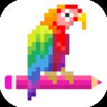 Pixel Art Number icon