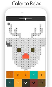Pixel Art Number APK screenshot 1