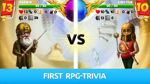 BeGenius: RPG Trivia Game APK screenshot 1