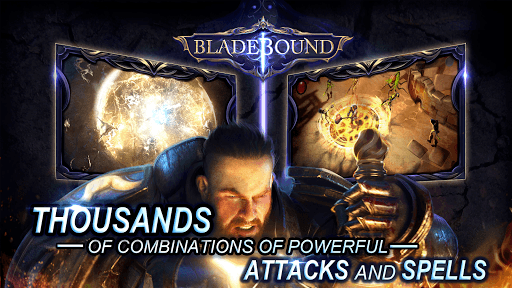 Bladebound: Hack and Slash Action RPG APK screenshot 1