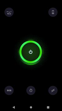 Flashlight LED - Vortex APK screenshot 1