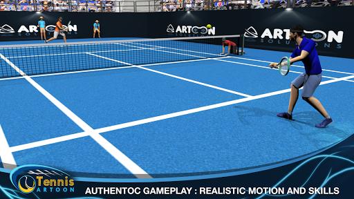 Tennis Multiplayer APK screenshot 1