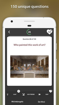 Art quiz APK screenshot 1