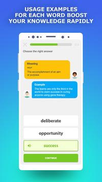 Learn English : IELTS Vocabulary Builder APK screenshot 1