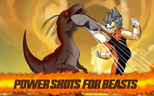 Hero Vegeta Super Saiyan Super Hero Warrior APK screenshot 1