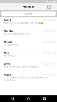 Apple Message APK screenshot 1