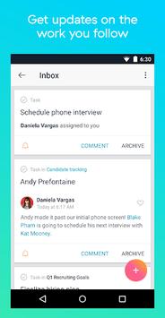 Asana: organize team projects APK screenshot 1