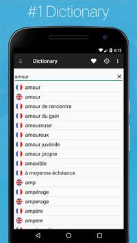 French English Dictionary APK screenshot 1