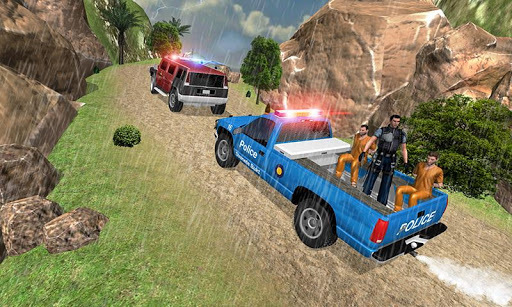 Hill Police vs Gangsters Chase APK screenshot 1