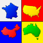 Maps of All Countries in the World: Geography Quiz icon