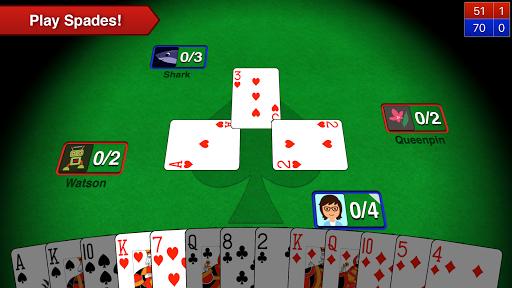 Spades + APK screenshot 1