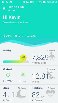 ASUS ZenFit APK screenshot 1