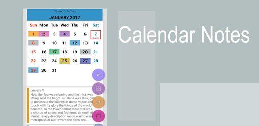 Calendar Notes pc screenshot