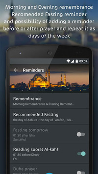 Athanotify - prayer times APK screenshot 1