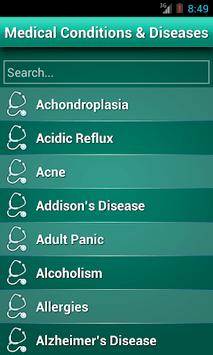 Diseases Dictionary ✪ Medical APK screenshot 1