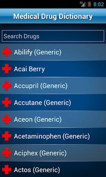 Drugs Dictionary Offline: FREE APK screenshot 1