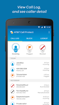 AT&T Call Protect APK screenshot 1