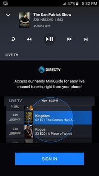 DIRECTV Remote App APK screenshot 1