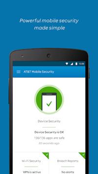 AT&T Mobile Security APK screenshot 1
