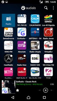 Radio Player, MP3-Recorder by Audials APK screenshot 1
