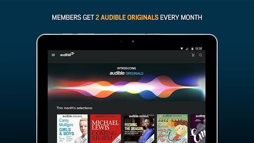 Audiobooks from Audible APK screenshot 1