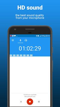 AudioRec - Voice Recorder APK screenshot 1