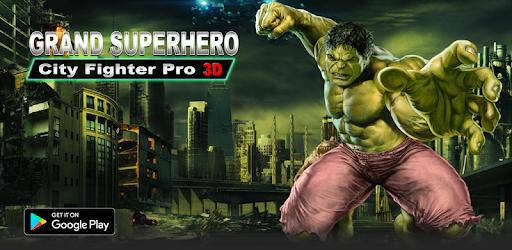Grand Superhero City Fighter Pro: Robot Adventure pc screenshot
