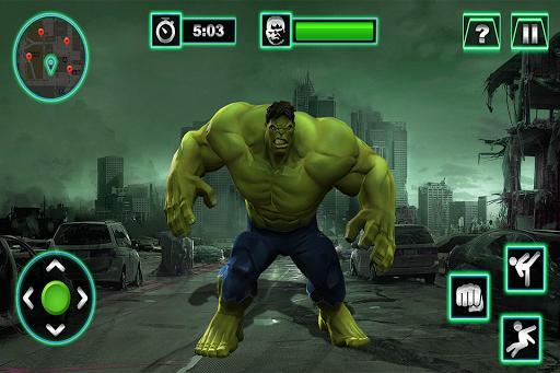 Grand Superhero City Fighter Pro: Robot Adventure APK screenshot 1