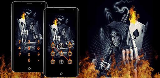 Devil Death Skull Theme – AppLock pc screenshot
