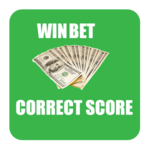 Win bet - football prediction icon