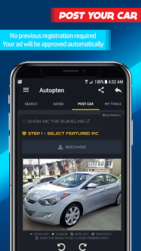 Cheap Cars For Sale - Find or Sell (Autopten) APK screenshot 1