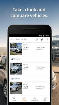 AutoScout24 - used car finder APK screenshot 1